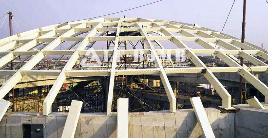 NIGERIA STEEL STRUCTURE CHURCH DOME ROOF
